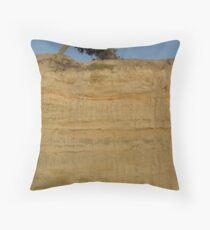 Bending Tree Throw Pillow