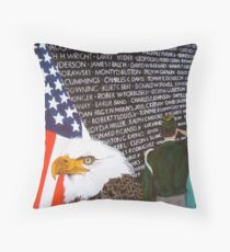 Price Paid-from the original art of Kathleen Carrier Throw Pillow