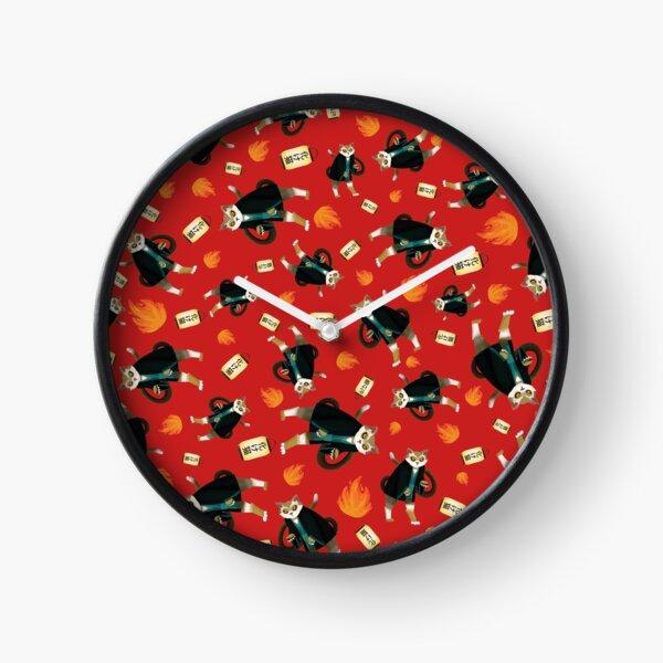 Bakeneko Chat Horloge