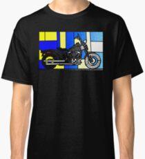 harley glass 2 Classic T-Shirt