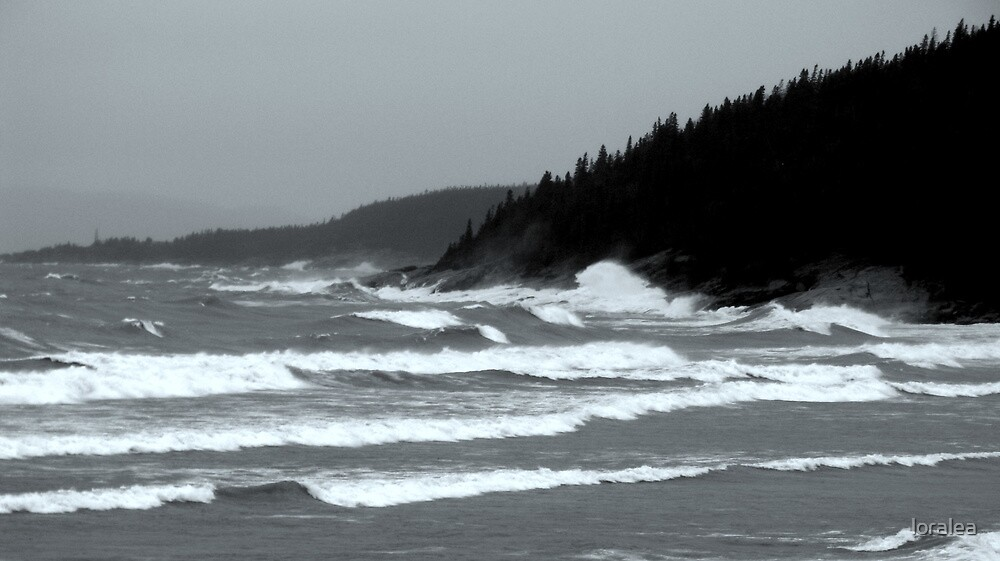 The Fury on Lake Superior, Marathon ONtario Canada by loralea
