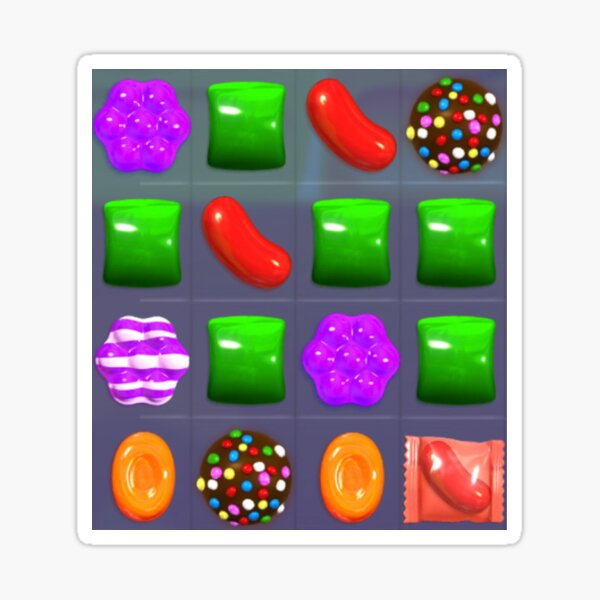 Candy Combo Candy Crush Sticker