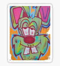 Acid Bunny - Abandon Schools Sticker