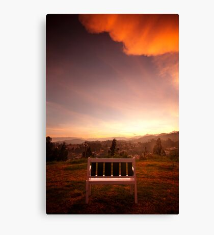 Mr Lonely Canvas Print
