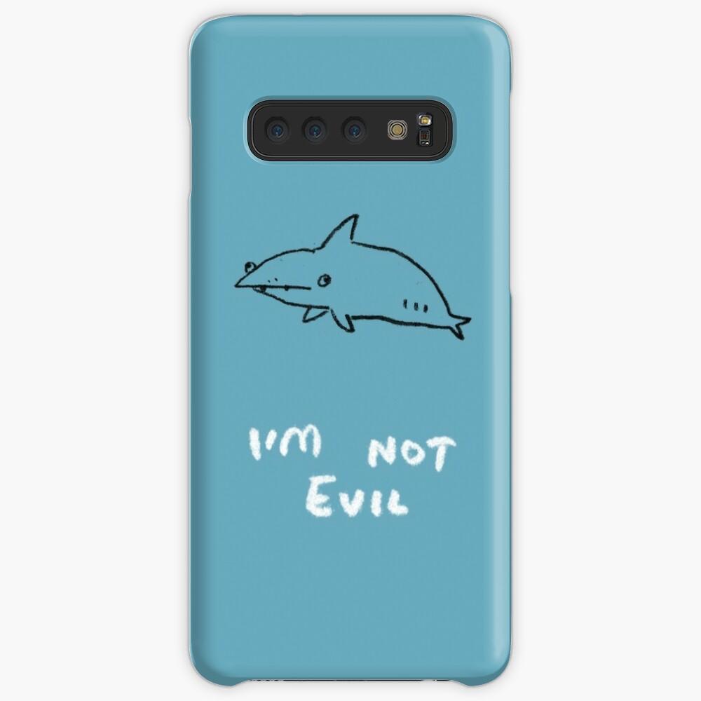 Los tiburones no son malvados Funda y vinilo para Samsung Galaxy
