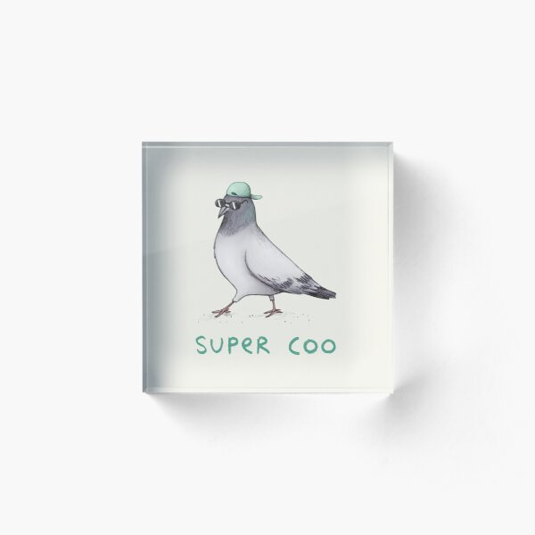 Super Coo Acrylic Block