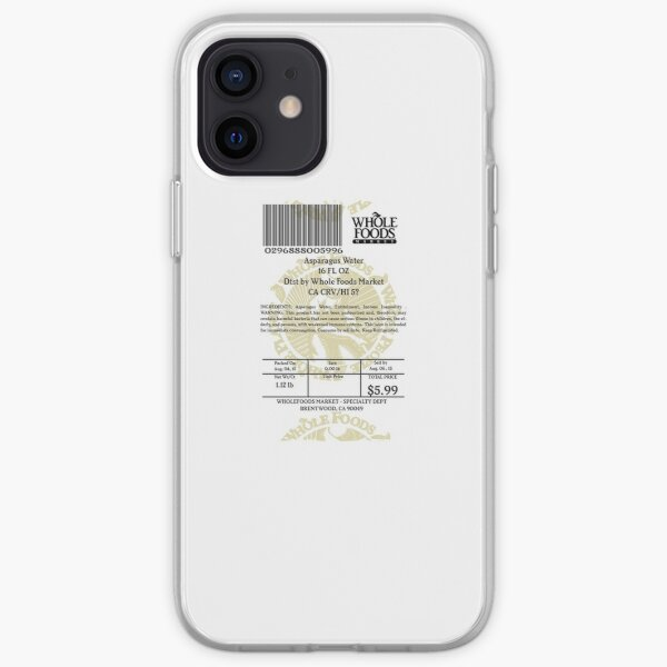 WHOLEFOODS: Asparagus Water iPhone Soft Case
