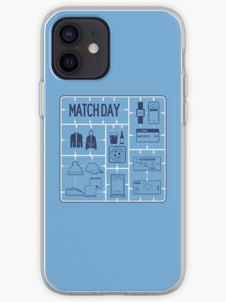 Maquette du Manchester City Match Day | Coque iPhone