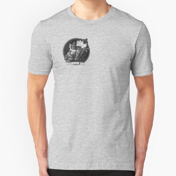 Frankenstein - Science 101 Slim Fit T-Shirt