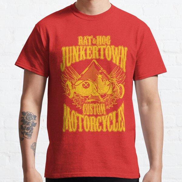 Rat & Hog - Junkertown Custom Motorcycles Classic T-Shirt