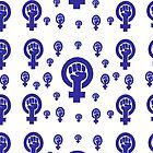 « Feminism - Blue » par Jen Callahan