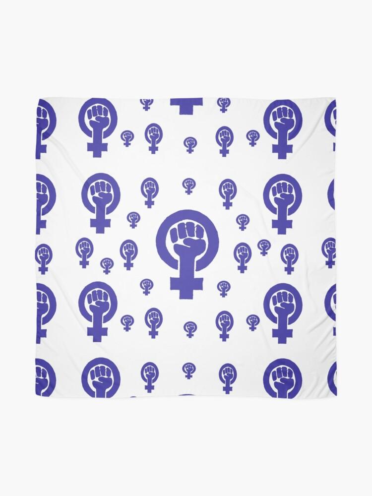 Alternate view of Feminism - Blue Scarf