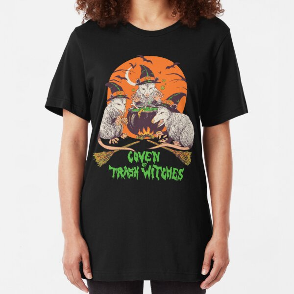 Coven Of Trash Witches Slim Fit T-Shirt