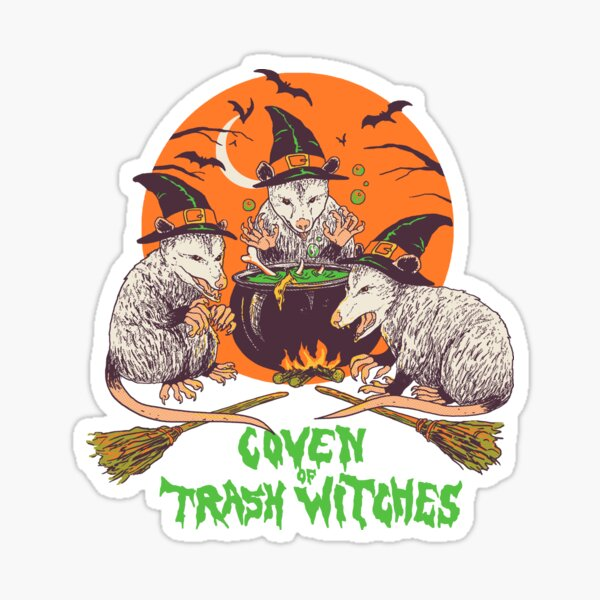 Coven Of Trash Witches Sticker