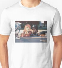 Drivin' with my Darling Slim Fit T-Shirt