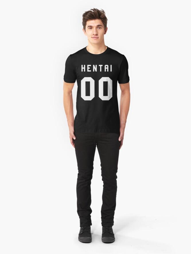 Alternate view of Hentai 00 Slim Fit T-Shirt