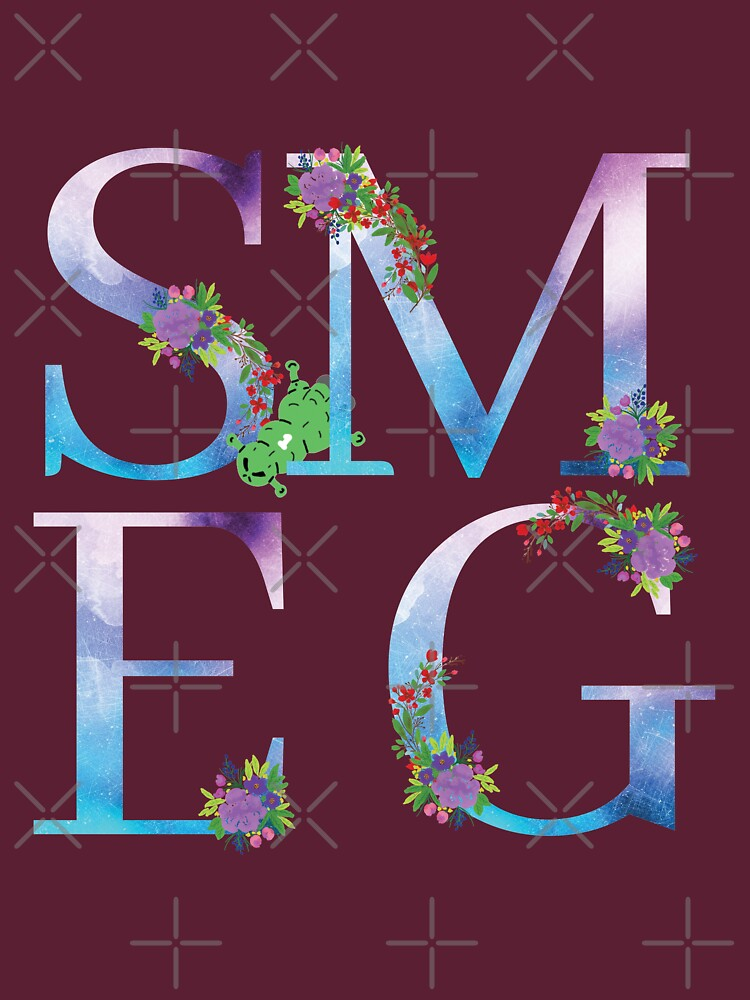 Watercolor Floral Monogram Smegged Up by tribbledesign