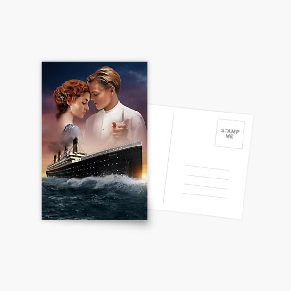 Titanic From the movie  Postcard