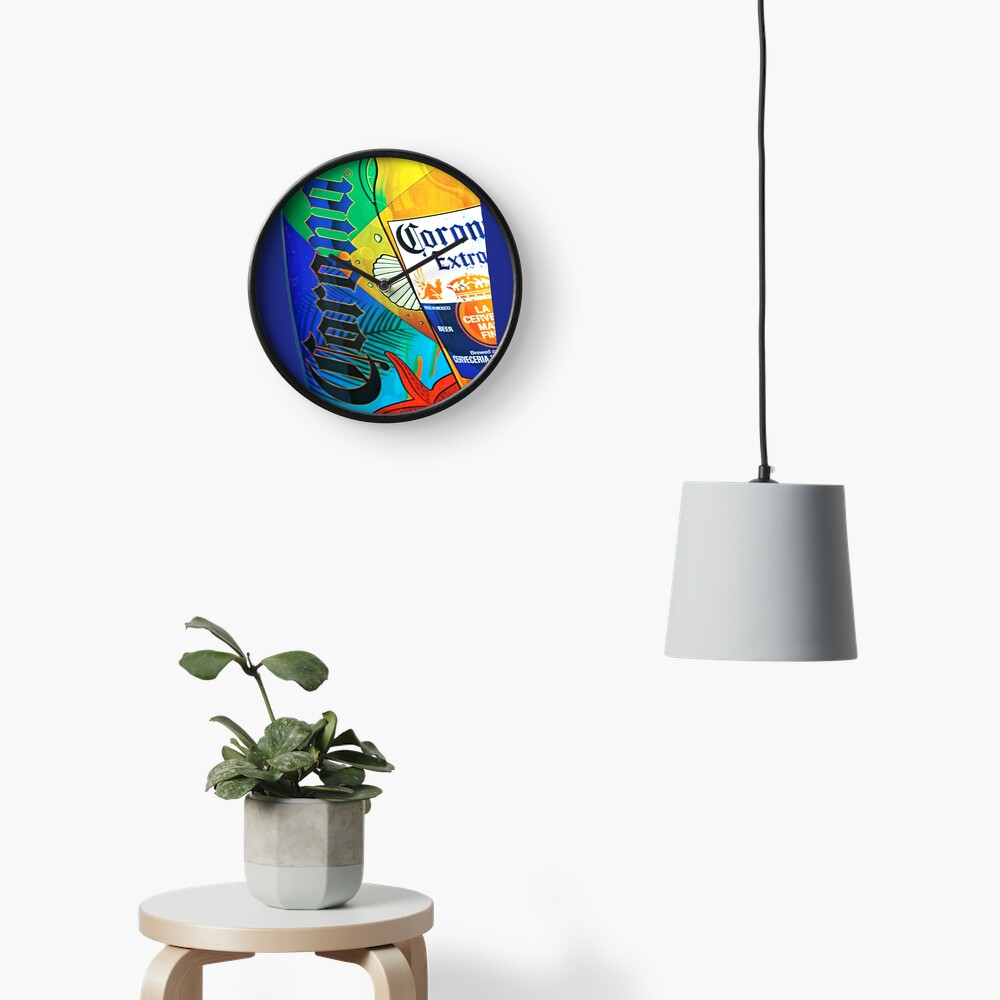 iCorona Clock