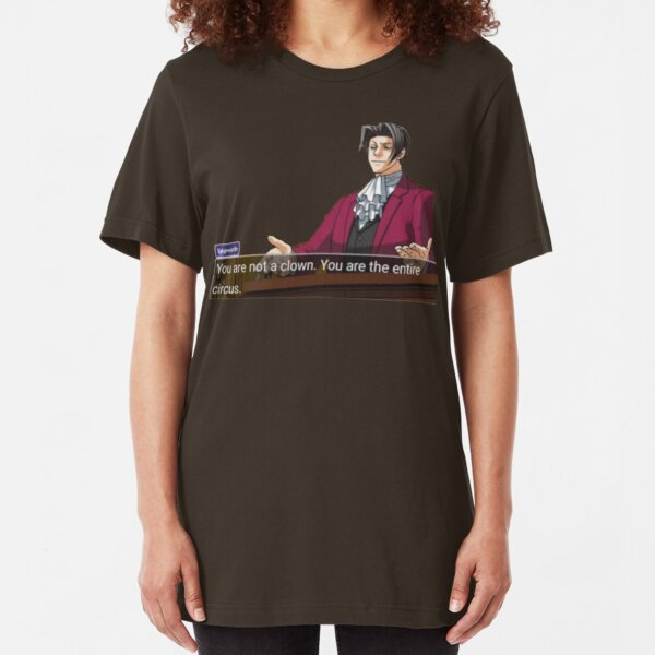 Miles Edgeworth Slim Fit T-Shirt