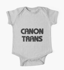 Canon Trans One Piece - Short Sleeve