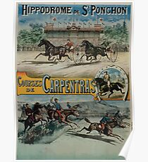 Poster 1890s St Ponchon affiche Poster