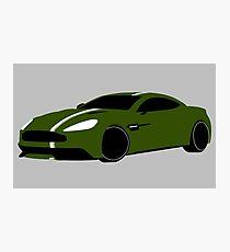 Aston Martin Vanquish  Photographic Print