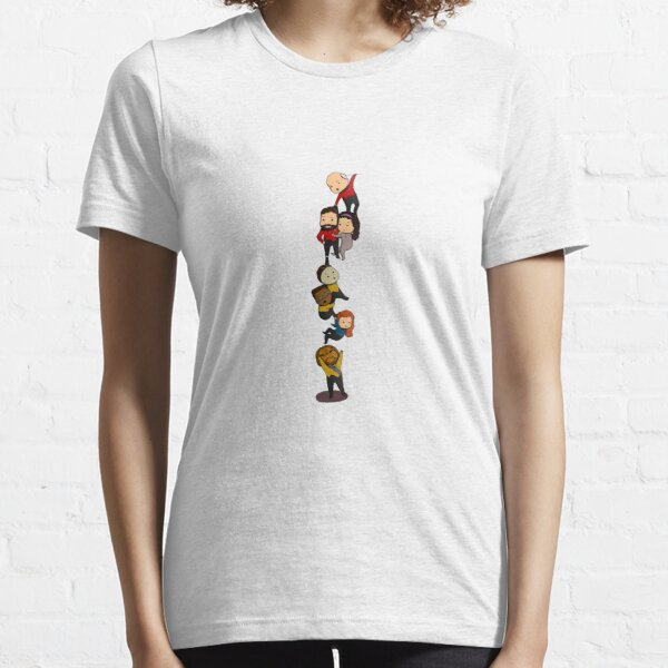 TNG Crew Chibi-style Essential T-Shirt
