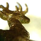 The golden Stag by TriciaDanby