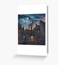 Concert For Angel With Orchestra Greeting Card