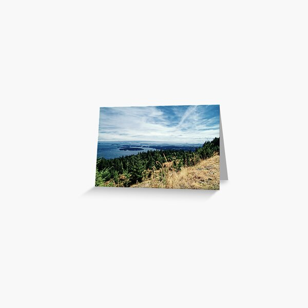 Gulf Island View Greeting Card