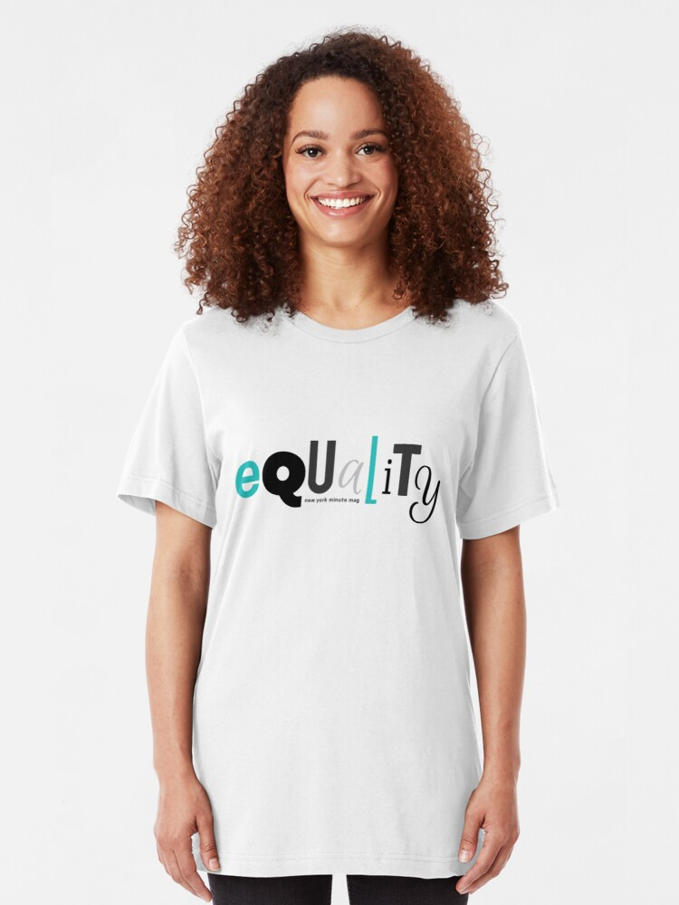 Alternate view of Equality Slim Fit T-Shirt
