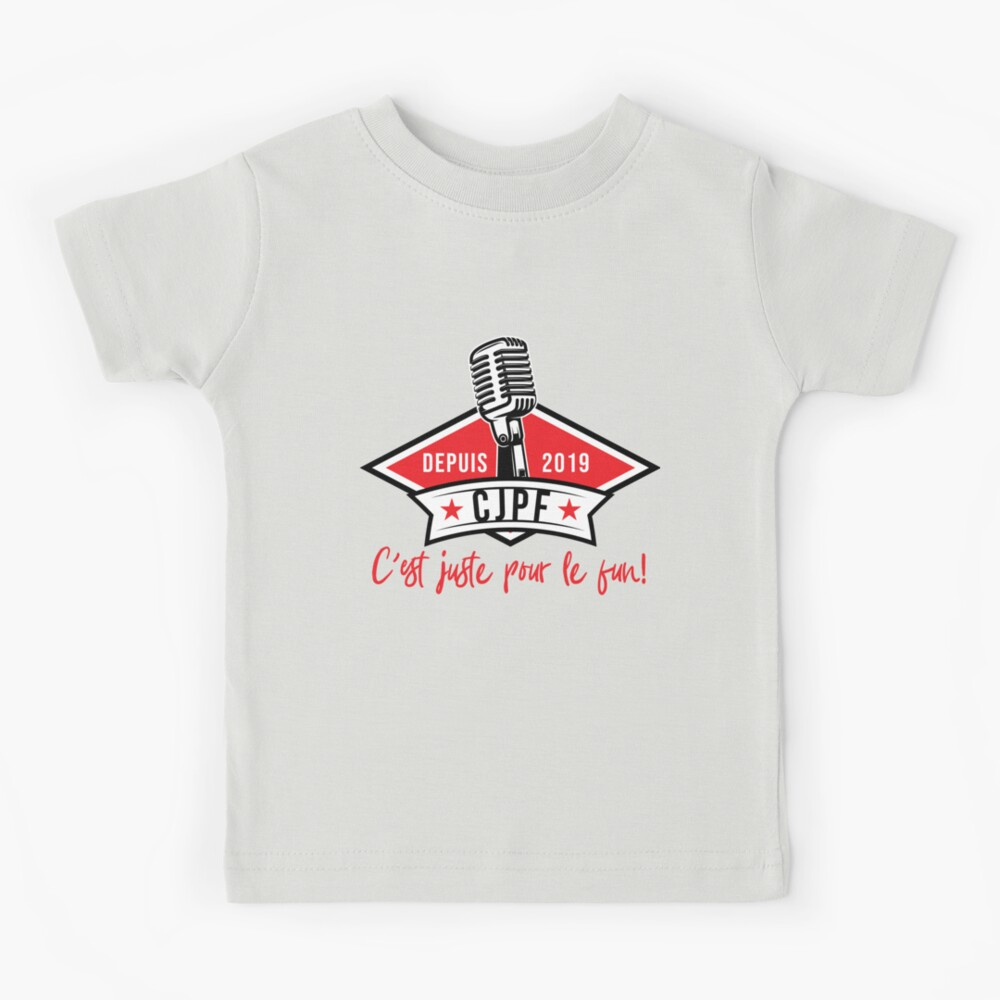 T-shirt enfant « Logo officiel de la radio CJPF»