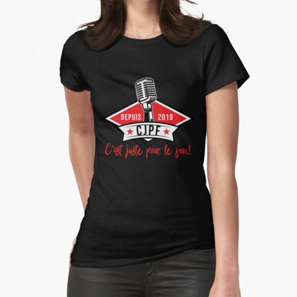 CJPF Official Logo Fitted T-Shirt