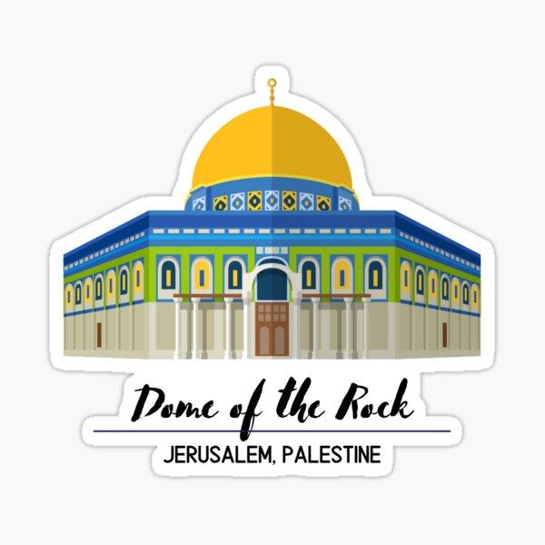 Dome of the Rock Jerusalem, Palestine Sticker