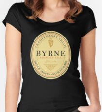 Irish Names Byrne Women's Fitted Scoop T-Shirt