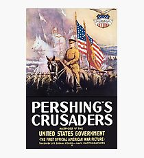 Lámina fotográfica Los cruzados de Pershing - WW1