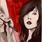 Red Mimi  by John Dicandia ( JinnDoW )