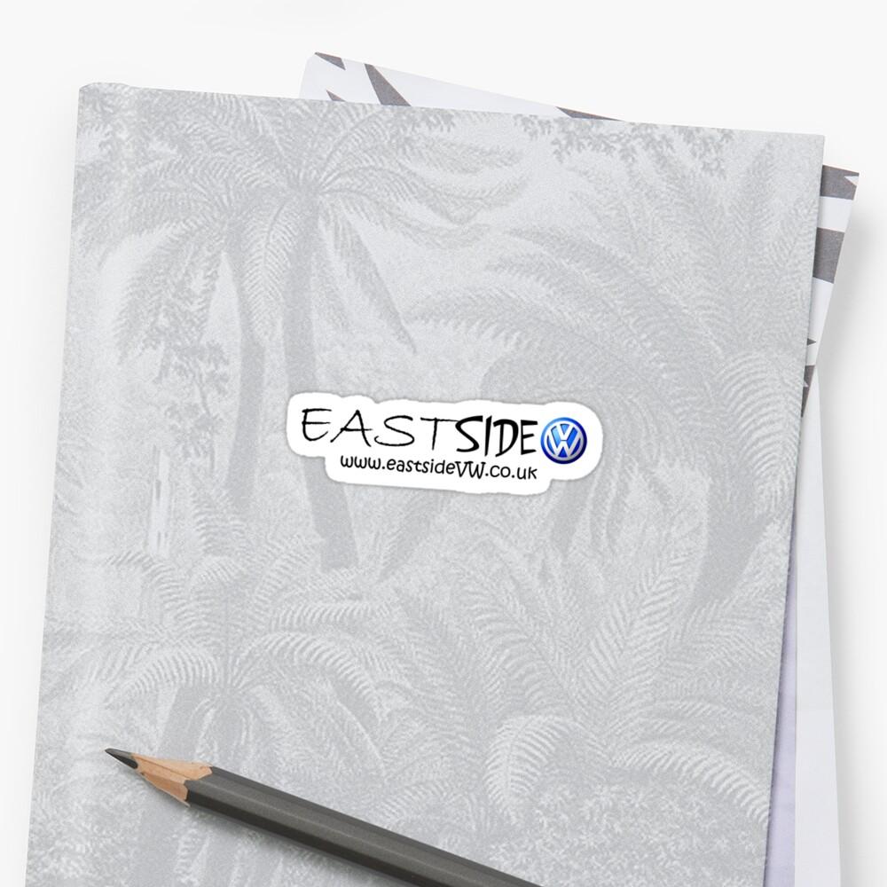 EastsideVW standard issue (black text) by Eastsidevw