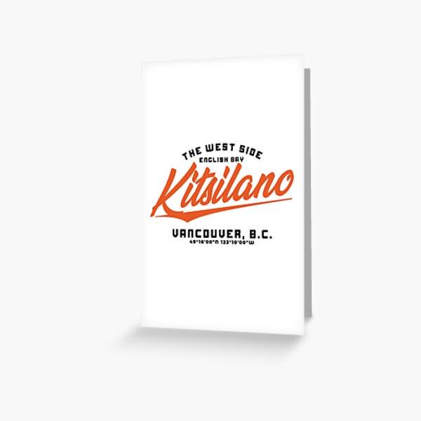 Kitsilano Greeting Card