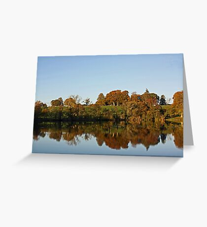 Derries Lake in Autumn #2 Greeting Card