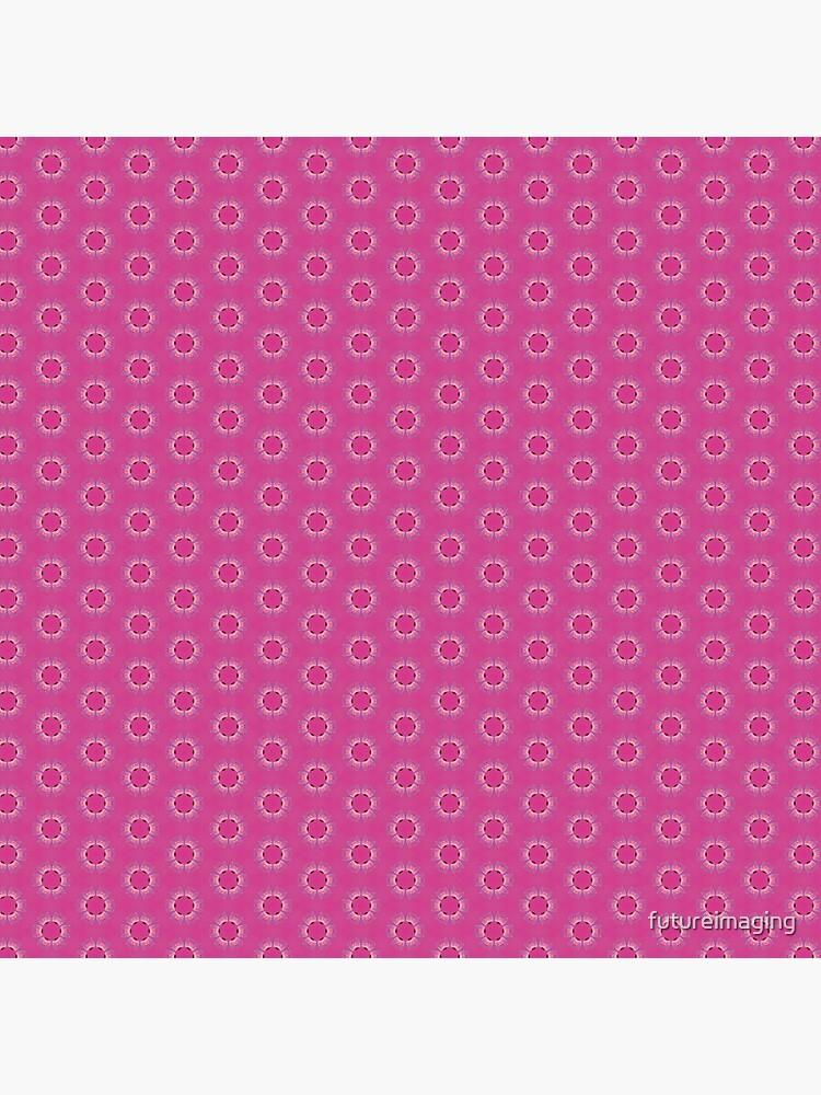Pink Pyrite Pattern Design by futureimaging
