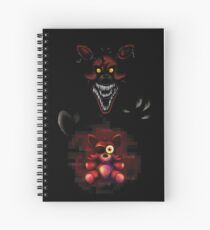 Five Nights at Freddy's - Fnaf 4 - Nightmare Foxy Plush Spiral Notebook