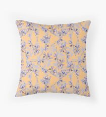 Frantic Floral Two Throw Pillow