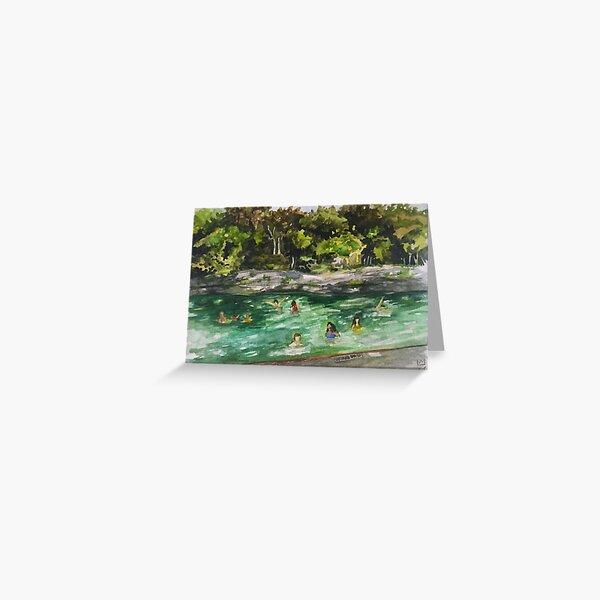 Barton Springs Greeting Card