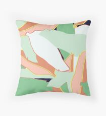 Leaf One Throw Pillow