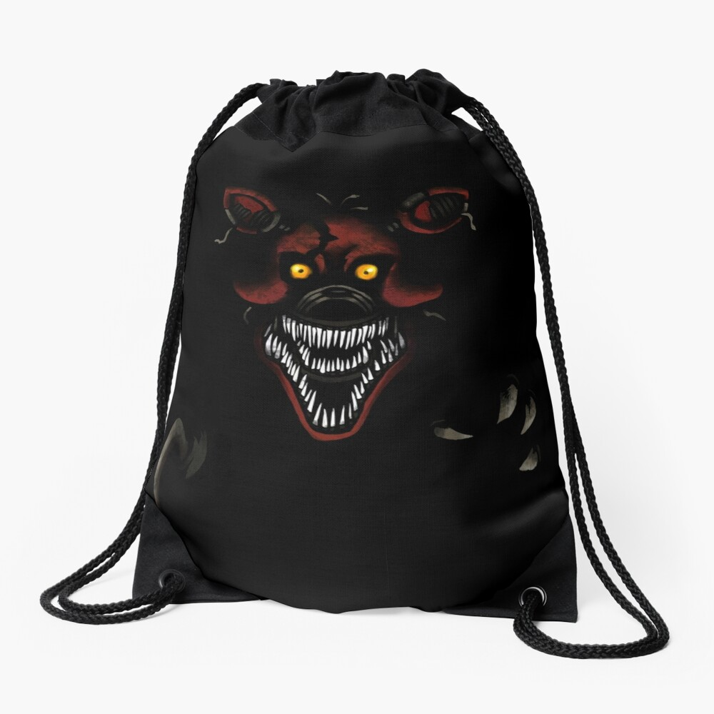 Five Nights at Freddy's - Fnaf 4 - Nightmare Foxy Drawstring Bag