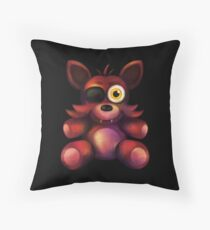 Five Nights at Freddy's - Fnaf 4 - Foxy Plush Throw Pillow