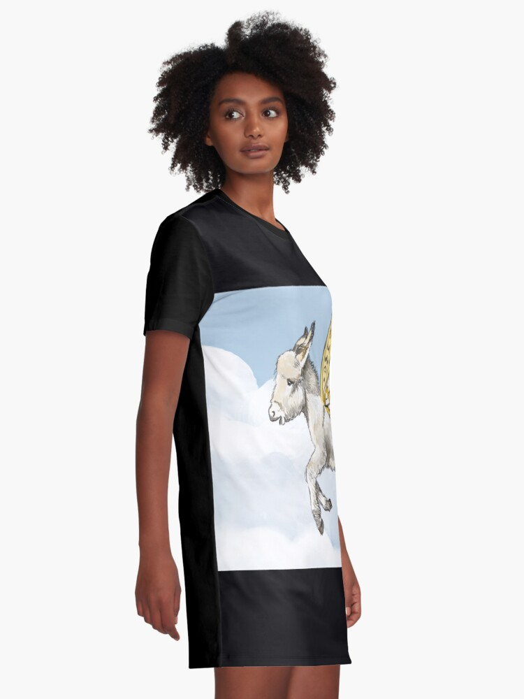 Alternate view of Donkletfly Graphic T-Shirt Dress