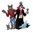 Halloween - Fangs! by Jokertoons